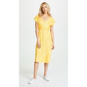 REVOLVE Knot Sisters Yellow Sundress Size S